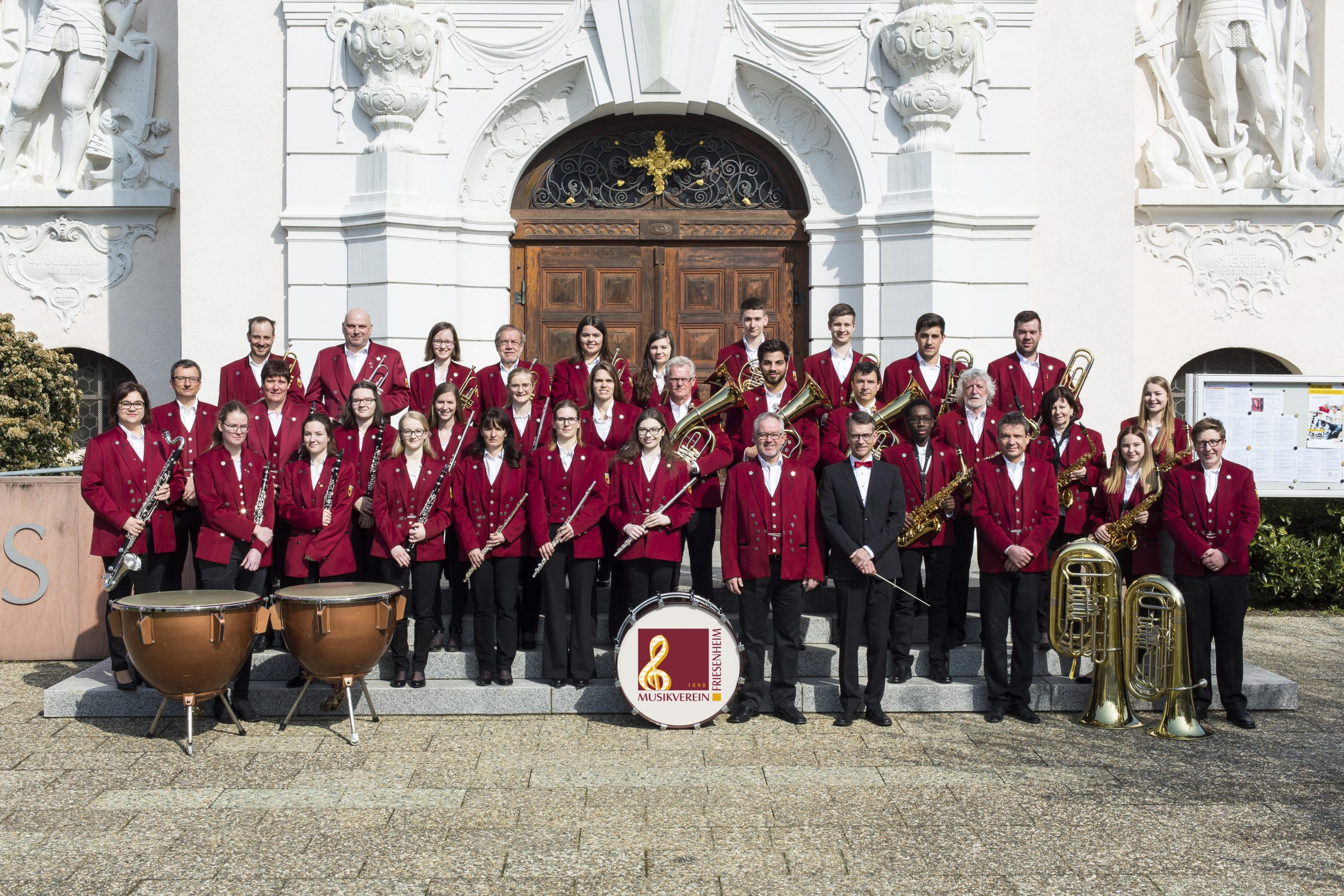 Aktiven Mitglieder des Musikvereins