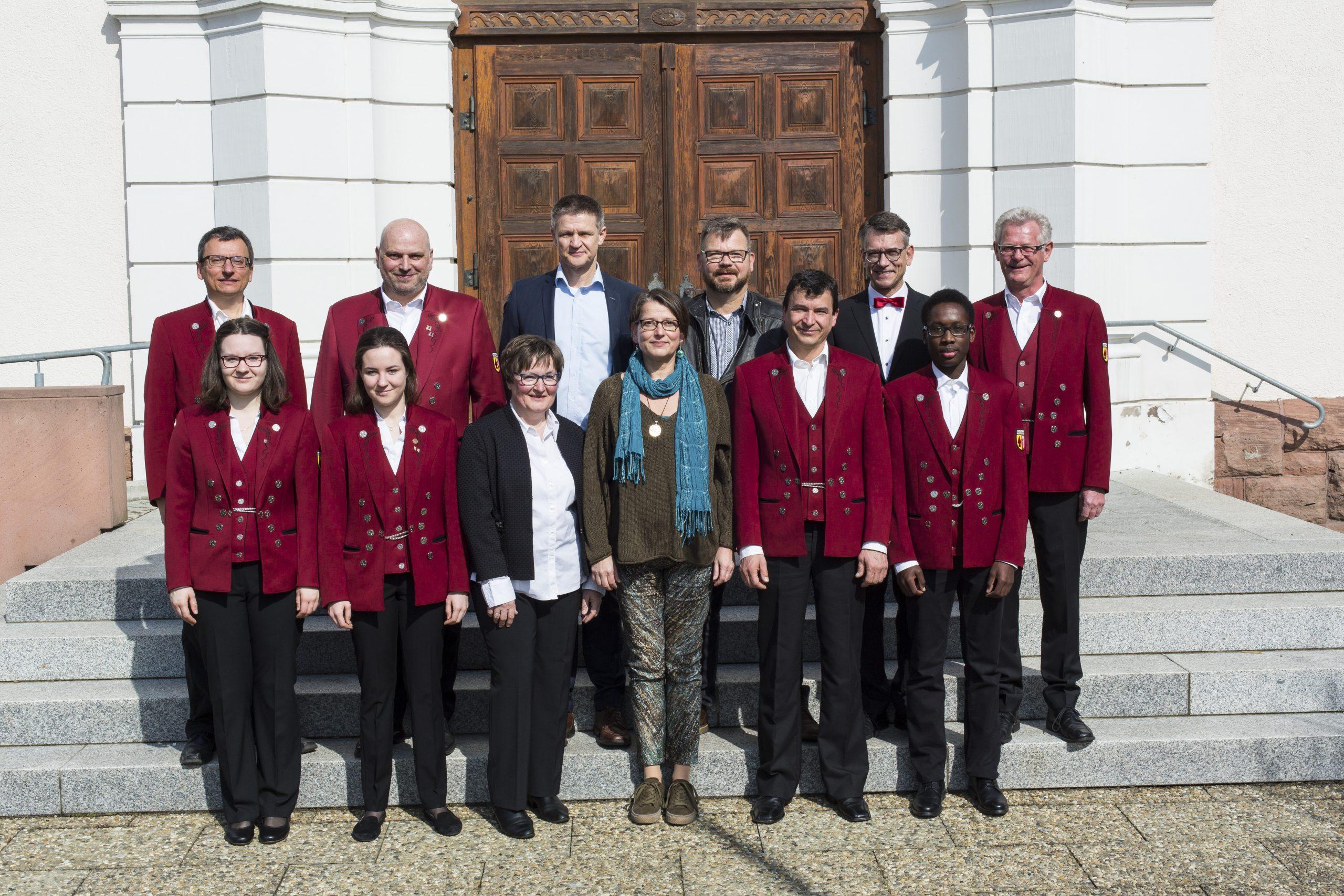 Vorstandschaft des Musikverein